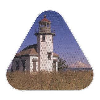 WA, Maury Island, Point Robinson Lighthouse, Speaker