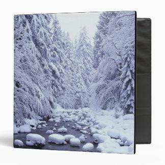 WA, Mount Baker-Snoqualmie National Forest, 3 Ring Binder
