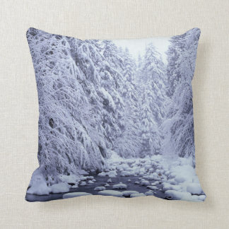 WA, Mount Baker-Snoqualmie National Forest, Throw Pillow