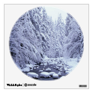 WA, Mount Baker-Snoqualmie National Forest, Wall Sticker