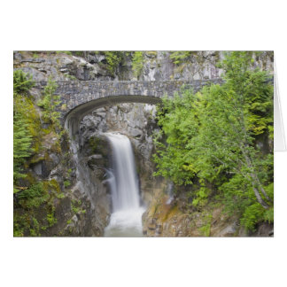 WA, Mount Rainier National Park, Christine Falls Card