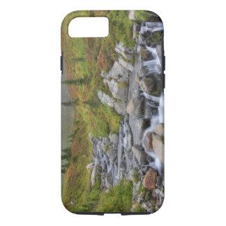 WA, Mt. Rainier National Park, Edith Creek iPhone 7 Case