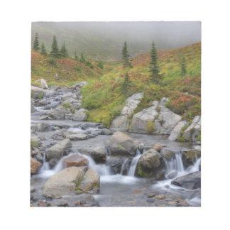 WA, Mt. Rainier National Park, Edith Creek Memo Notepad