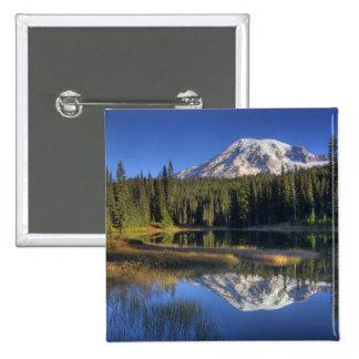 WA, Mt. Rainier National Park, Mt. Rainier Pinback Buttons