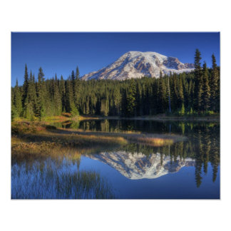WA, Mt. Rainier National Park, Mt. Rainier Print