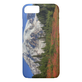 WA, Mt. Rainier National Park, Paradise Valley iPhone 7 Case