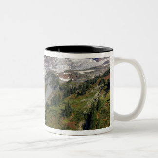 WA, Mt. Rainier National Park, view from the Two-Tone Coffee Mug