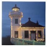 WA, Mukilteo, Mukilteo Lighthouse, established Tile