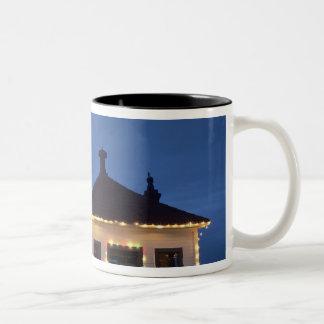 WA, Mukilteo, Mukilteo Lighthouse, established Two-Tone Coffee Mug