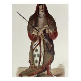 Wa-Na-Ta or 'The Charger', Grand Chief Postcard