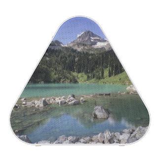 WA, Okanogan N-F, lago lewis y pico negro Altavoz