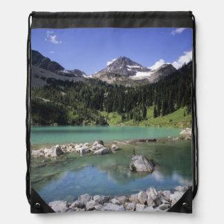 WA, Okanogan NF, Lewis Lake and Black Peak Drawstring Bags