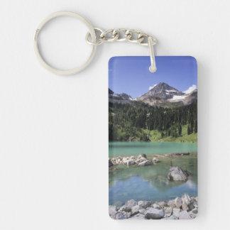 WA, Okanogan NF, Lewis Lake and Black Peak Keychain