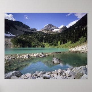 WA, Okanogan NF, Lewis Lake and Black Peak Print