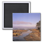 WA, Olympic NP, Kalaloch Beach and Kalaloch 2 Inch Square Magnet