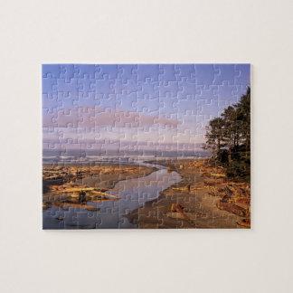 WA, Olympic NP, Kalaloch Beach and Kalaloch Jigsaw Puzzle