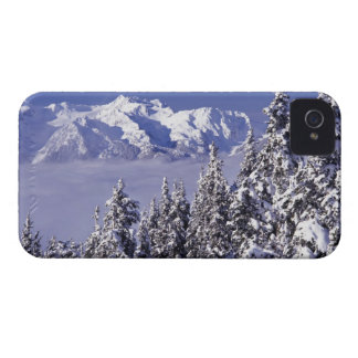 WA, Olympic NP, Olympic Mountain Range, view iPhone 4 Cover