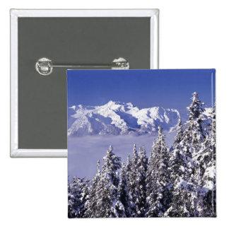 WA, Olympic NP, Olympic Mountain Range, view Pinback Button