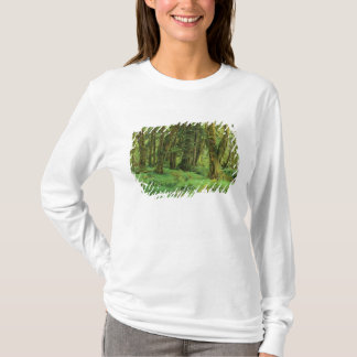 WA, Olympic NP, Quinault Rain Forest, moss T-Shirt