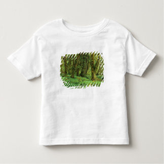 WA, Olympic NP, Quinault Rain Forest, moss Toddler T-shirt
