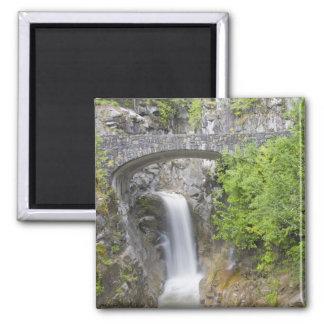WA parque nacional del Monte Rainier caídas de C Imán Para Frigorifico