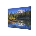 WA, parque nacional del Monte Rainier, el Monte Impresión En Lienzo