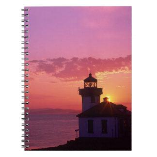 WA, San Juan Island, Lime Kiln Lighthouse, 1919, 2 Notebook