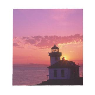 WA, San Juan Island, Lime Kiln Lighthouse, 1919, 2 Note Pad