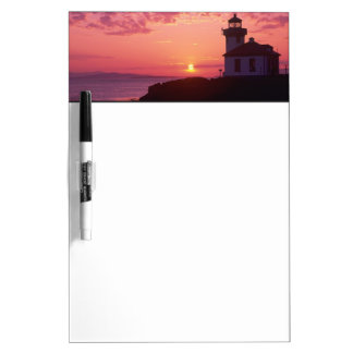 WA, San Juan Island, Lime Kiln Lighthouse, 1919, Dry Erase Whiteboards