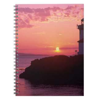 WA, San Juan Island, Lime Kiln Lighthouse, 1919, Notebook