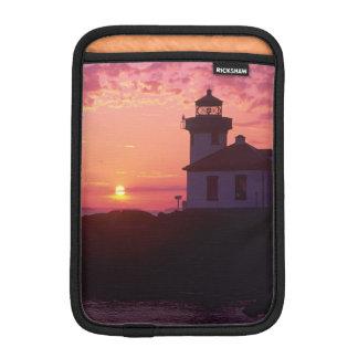 WA, San Juan Island, Lime Kiln Lighthouse, 1919, Sleeve For iPad Mini
