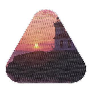 WA, San Juan Island, Lime Kiln Lighthouse, 1919, Speaker