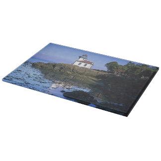 WA, San Juan Island, Lime Kiln lighthouse Cutting Board