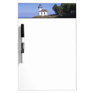 WA, San Juan Island, Lime Kiln lighthouse Dry-Erase Board