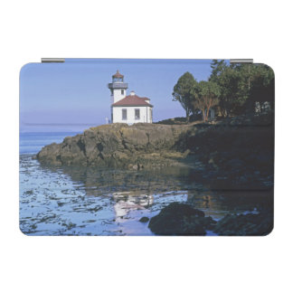 WA, San Juan Island, Lime Kiln lighthouse iPad Mini Cover