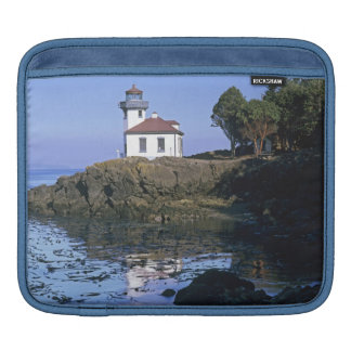 WA, San Juan Island, Lime Kiln lighthouse iPad Sleeve