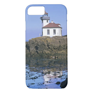 WA, San Juan Island, Lime Kiln lighthouse iPhone 7 Case