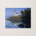 WA, San Juan Island, Lime Kiln lighthouse Jigsaw Puzzles