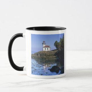WA, San Juan Island, Lime Kiln lighthouse Mug