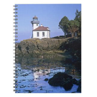 WA, San Juan Island, Lime Kiln lighthouse Notebook
