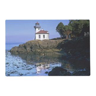 WA, San Juan Island, Lime Kiln lighthouse Placemat