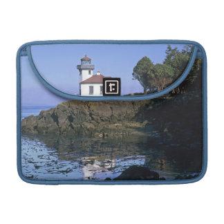 WA, San Juan Island, Lime Kiln lighthouse Sleeve For MacBook Pro