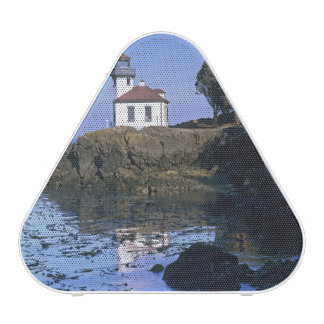 WA, San Juan Island, Lime Kiln lighthouse Speaker