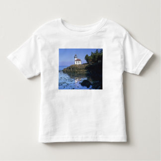 WA, San Juan Island, Lime Kiln lighthouse Toddler T-shirt