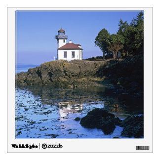WA, San Juan Island, Lime Kiln lighthouse Wall Decal
