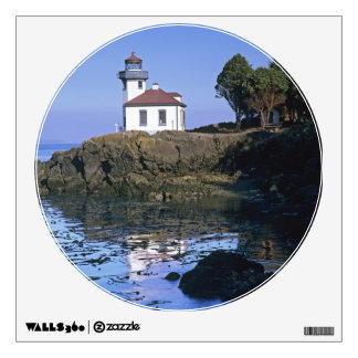 WA, San Juan Island, Lime Kiln lighthouse Wall Sticker