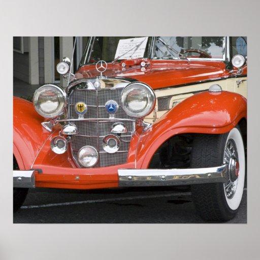 WA, Seattle, automóvil alemán clásico. 2 Poster