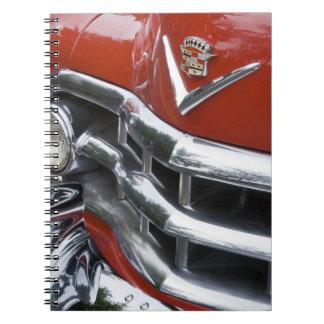 WA, Seattle, automóvil americano clásico. 4 Libros De Apuntes