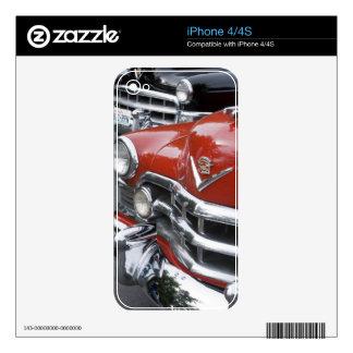 WA, Seattle, automóvil americano clásico Calcomanías Para El iPhone 4S