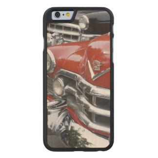 WA, Seattle, automóvil americano clásico Funda De iPhone 6 Carved® De Arce